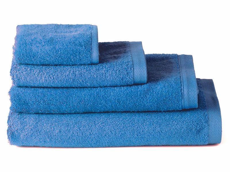 Toallas de Algodón para Baño Azul 100×150