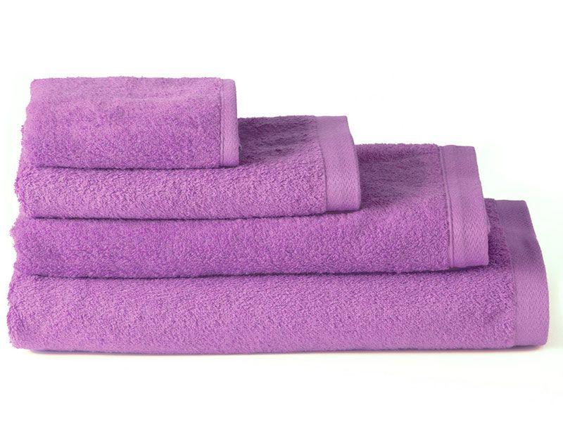 Toallas de Algodón para Baño Lila 100×150