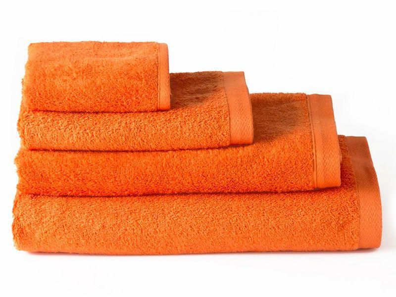Toallas de Algodón para Baño Naranja 50×100