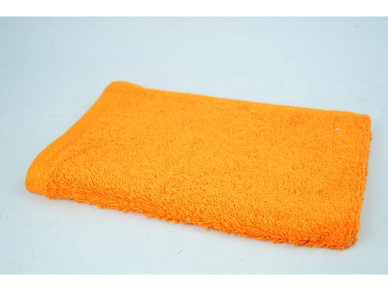 Toallas de algod n para ba o naranja 30 50 - Toallas de algodon ...