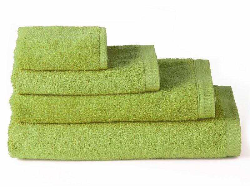 Toallas de Algodón para Baño Verde 100×150