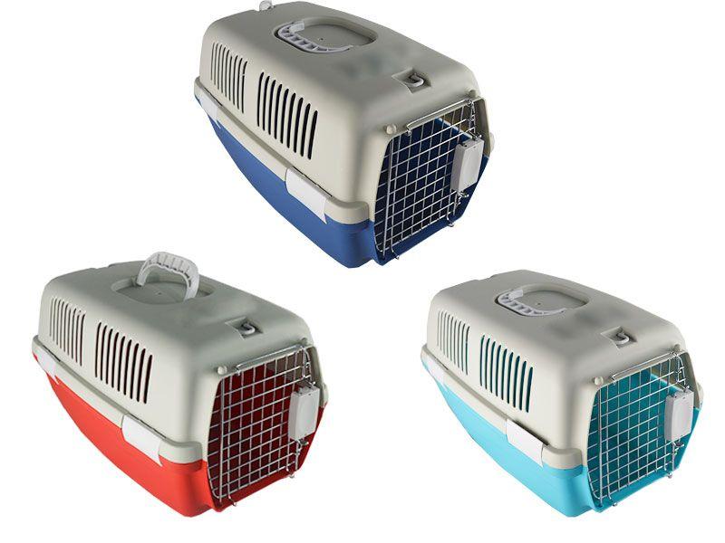 Transportín para perros y gatos que pesen entre 5 y 6 KG 48 cm x 30 cm x 28 cm disponible en tres colores diferentes