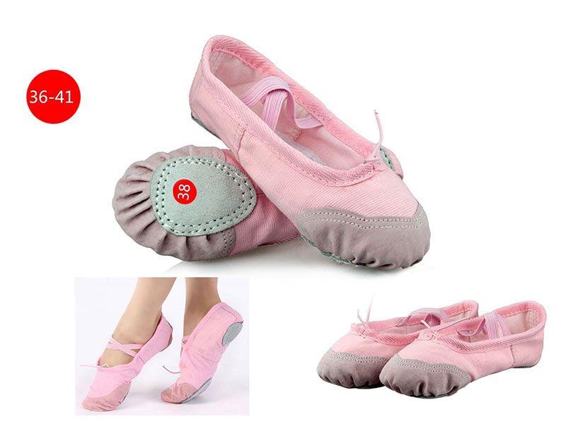 Zapatilla ballet rosa adulta