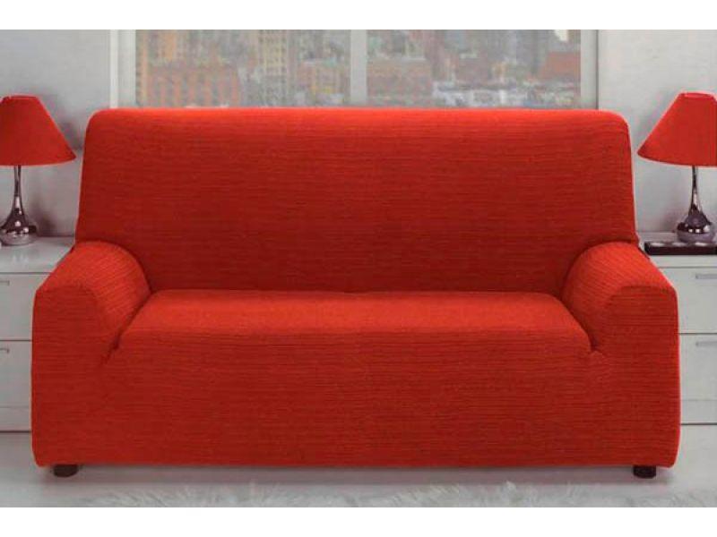 Funda para sofá jacquard elástica de estilo rústico