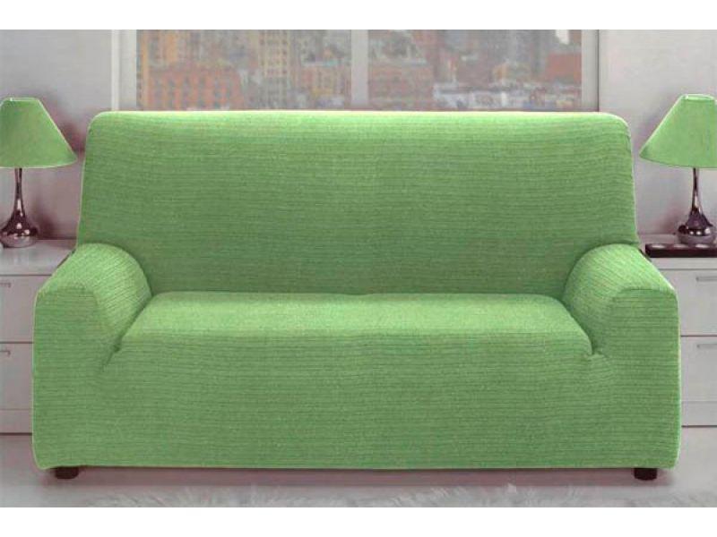 Funda para sofá verde