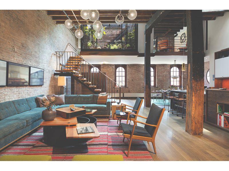 loft con diseño industrial